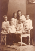 6 Rossen siblings from Sønderborg. Children of Carl Christian Rossen and Sophie Pauline Nielsen